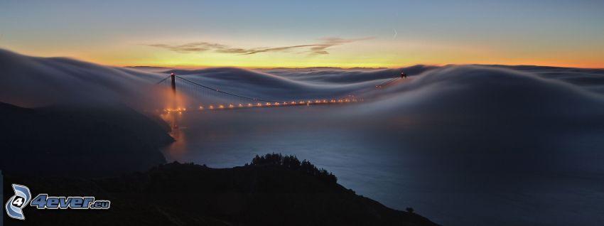 Golden Gate, Inversionswetterlage