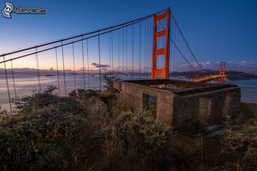 Golden Gate, verlassene Gebäude