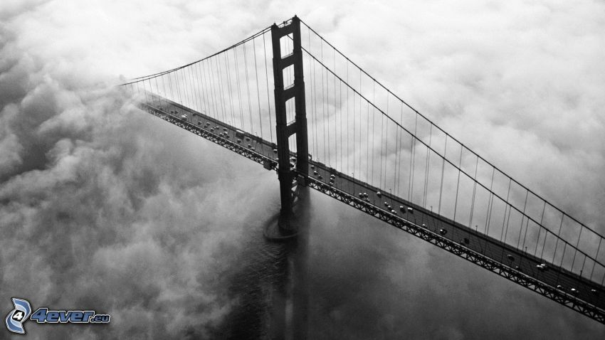 Golden Gate, Wolken