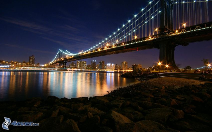 Manhattan Bridge, Manhattan