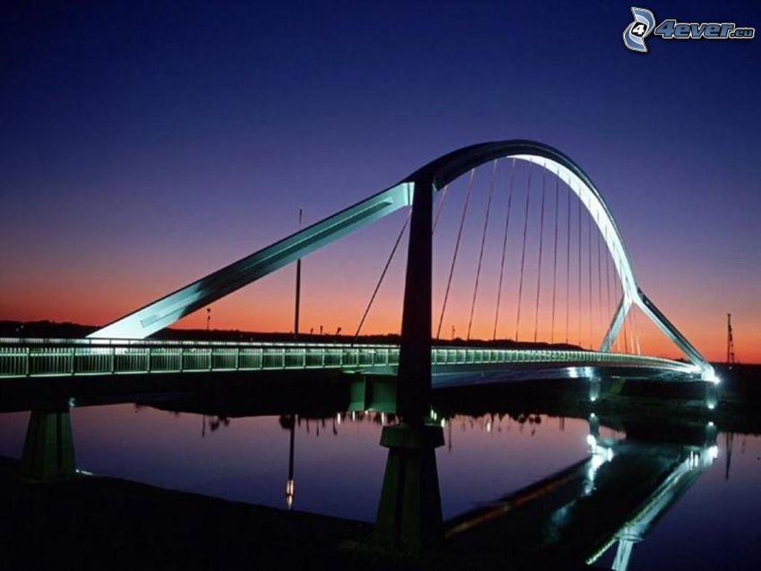 moderne Brücke, London, Themse