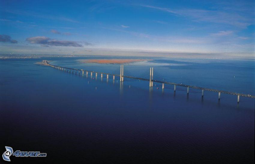 Øresund Bridge, Meer