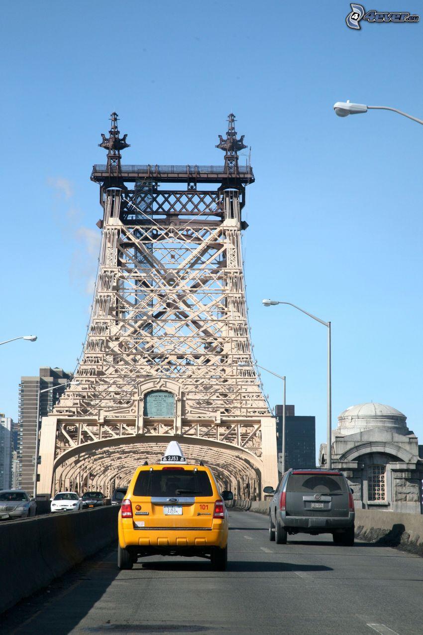 Queensboro bridge, taxi