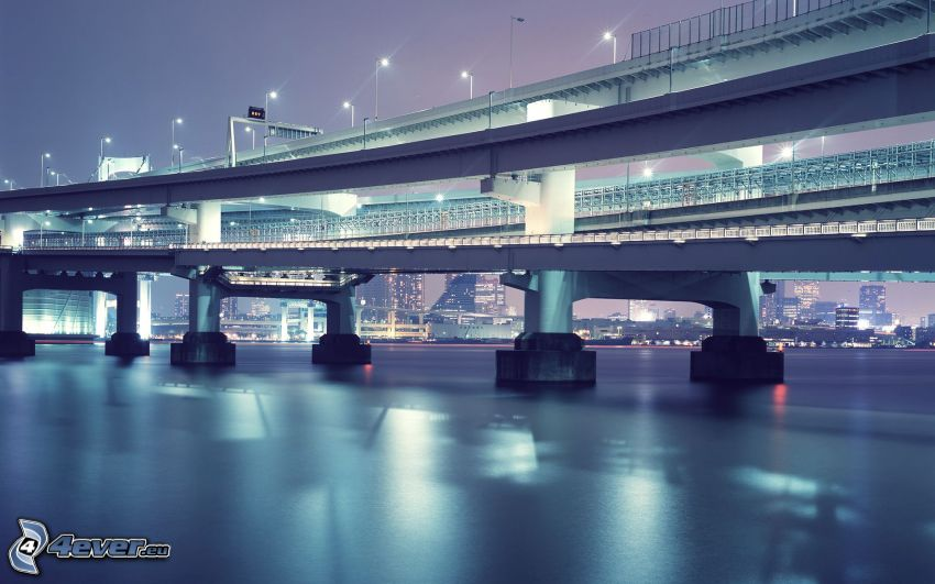Rainbow bridge, Tokio