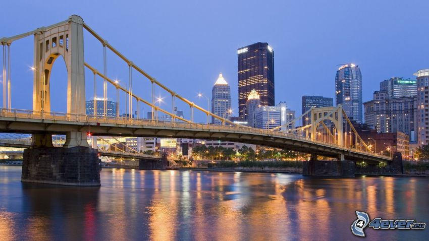 Roberto Clemente Bridge, Pittsburgh
