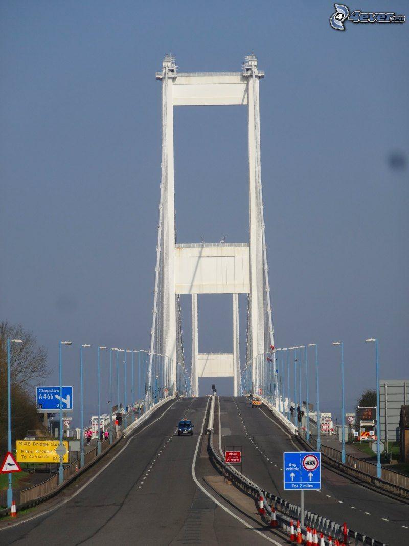 Severn Bridge, Autobahn
