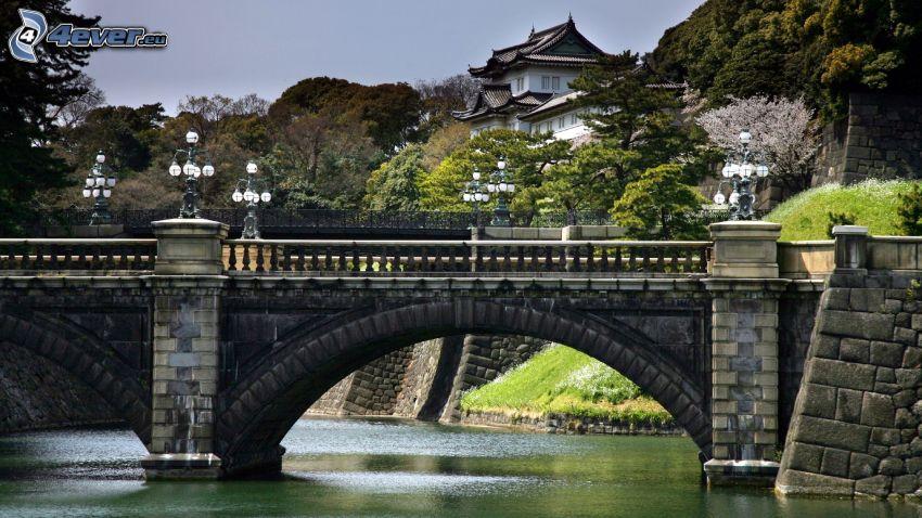 Steinbrücke, Fluss