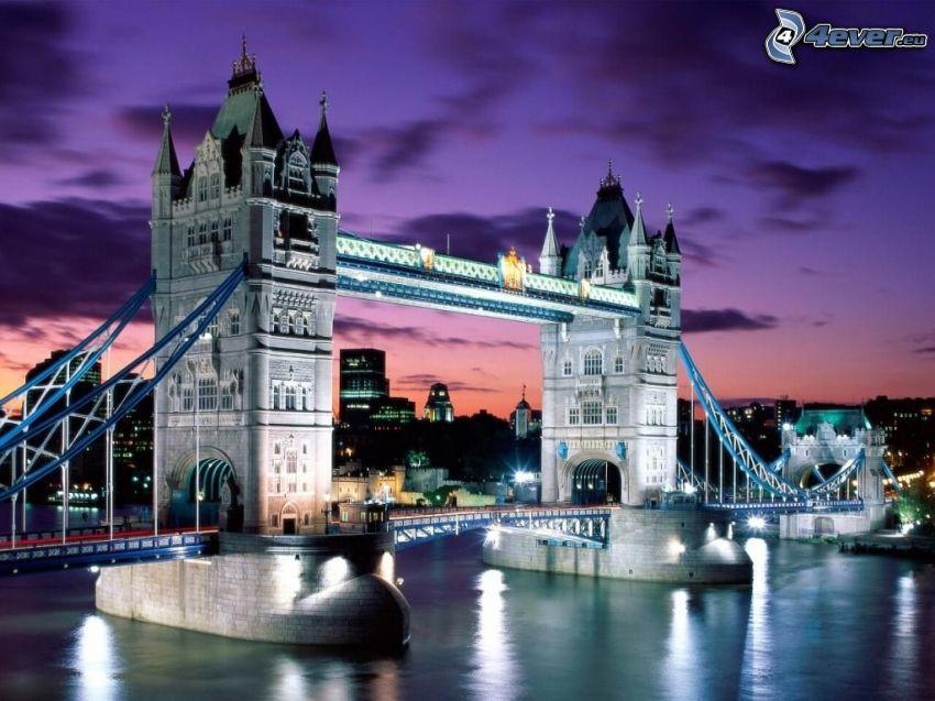 Tower Bridge, Brücke, London, England