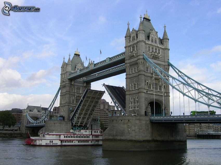 Tower Bridge, Schiff, Themse