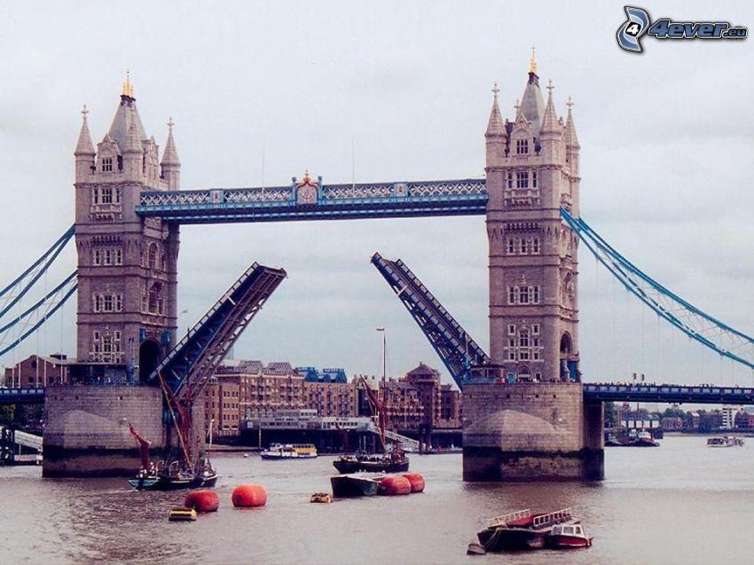 Tower Bridge, Themse, London