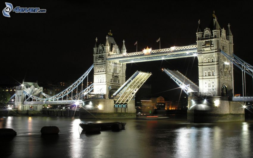 Tower Bridge, Zugbrücke