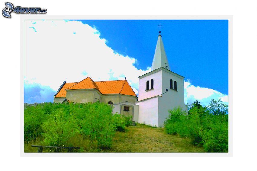 Glockenturm, Büsche