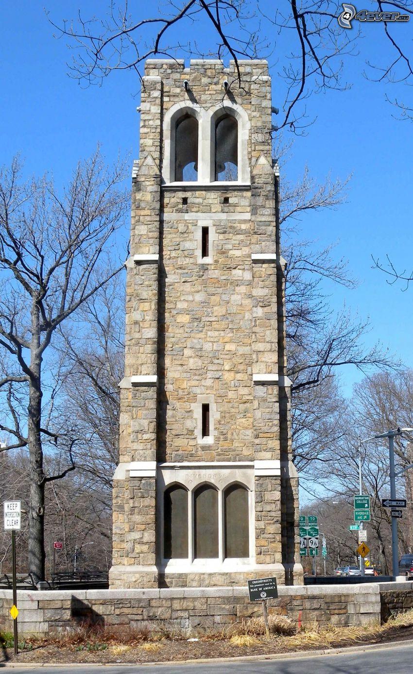 Glockenturm, Kreisverkehr