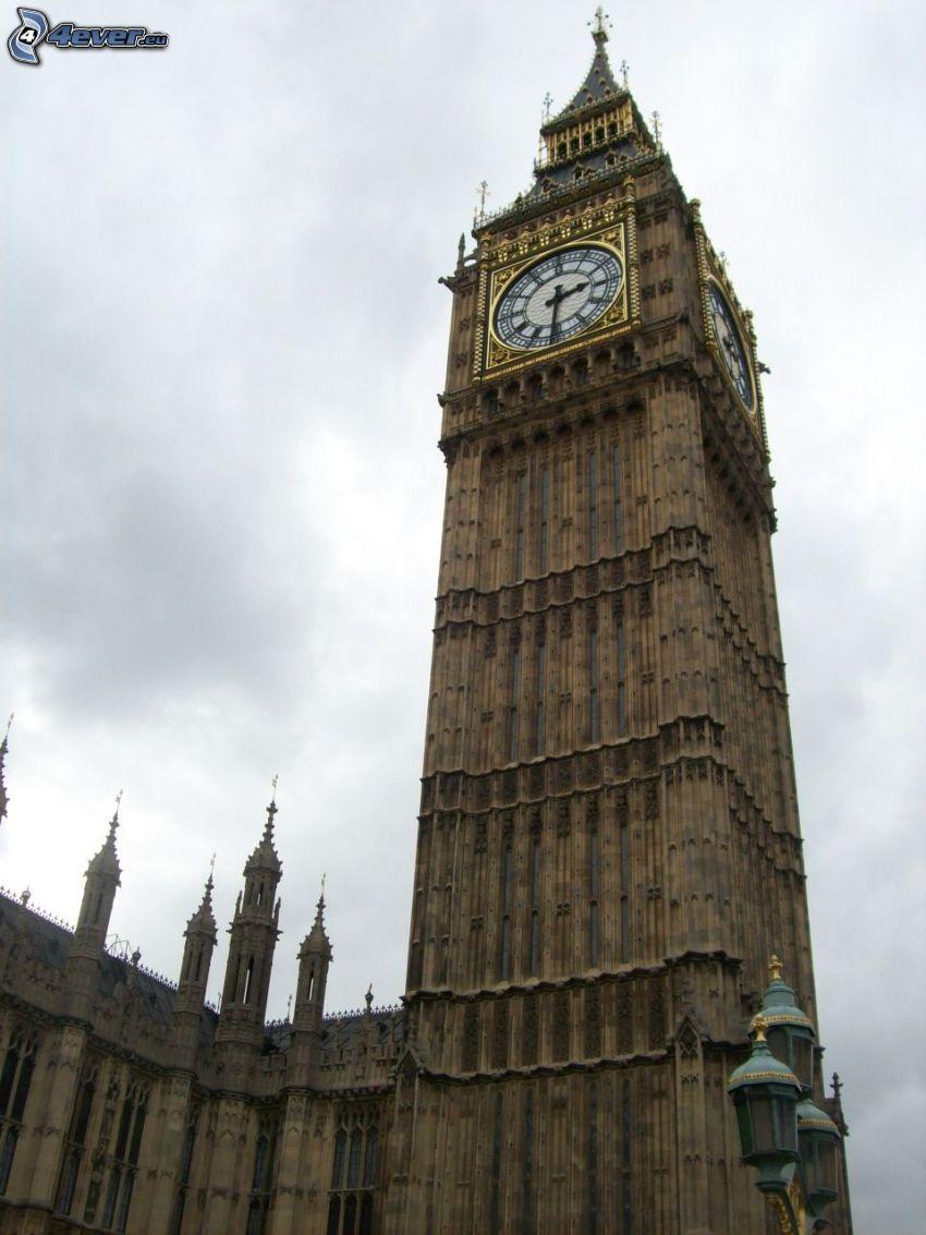 Big Ben, London, Turm, Uhr