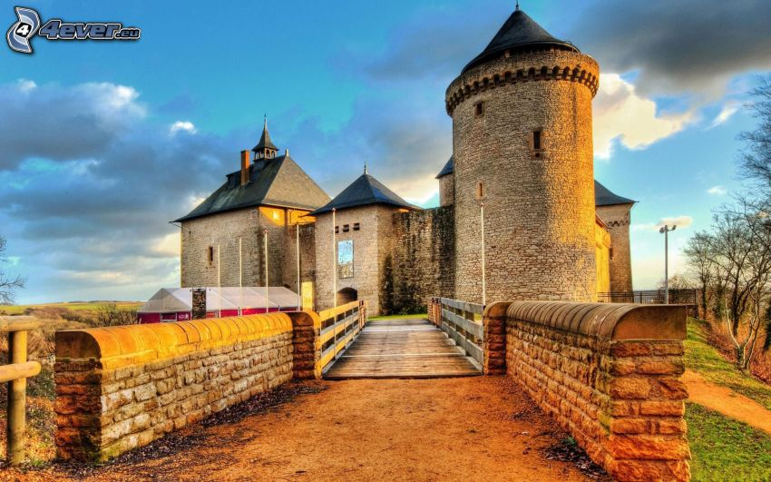 Burg, HDR