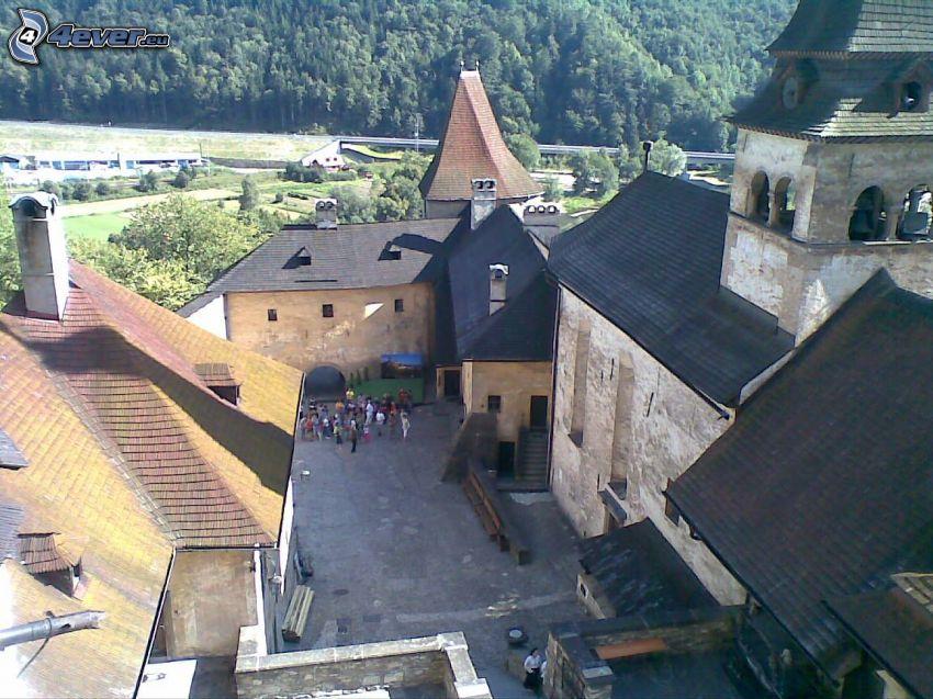 Burg Orava, Orava