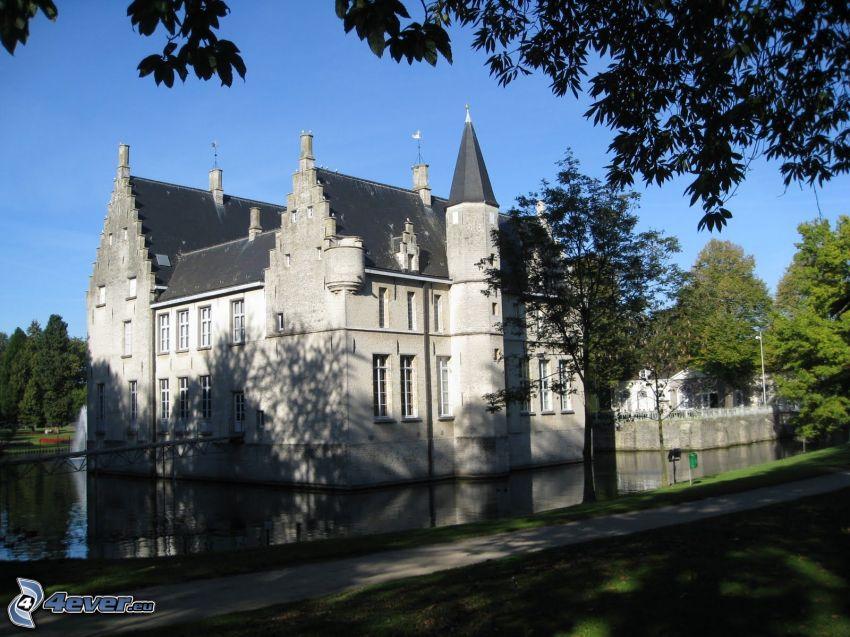 Cortewalle, Gehweg, See