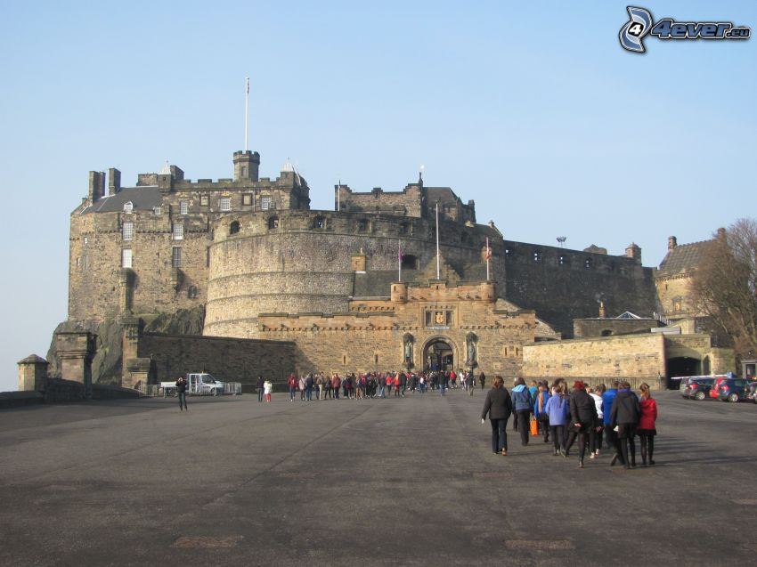 Edinburgh Castle, Touristen