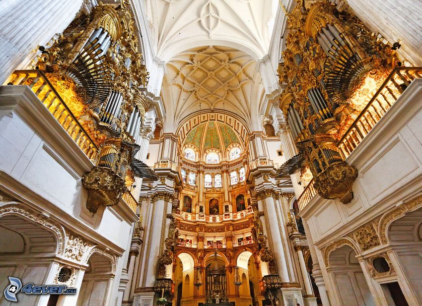 Granada Cathedral, Decke, Gewölbe