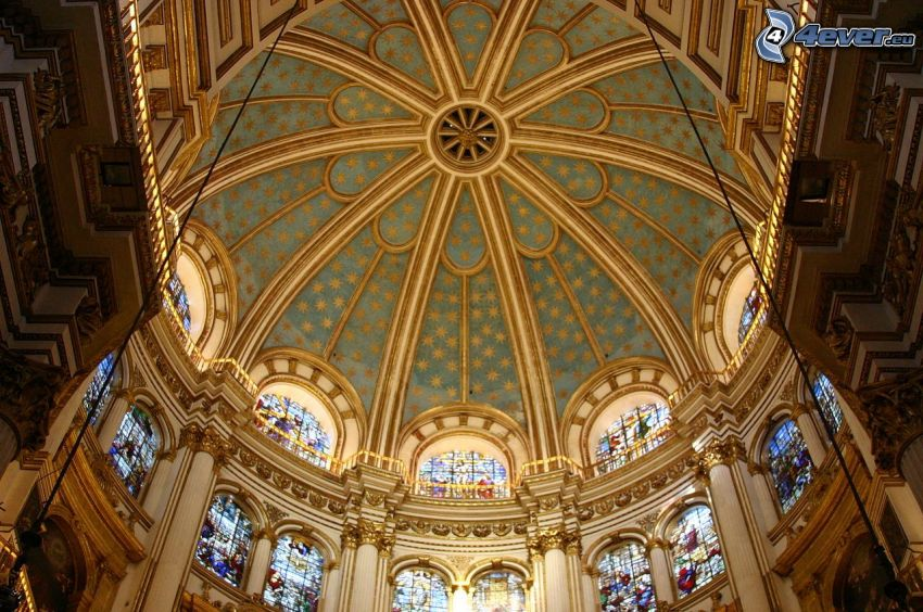 Granada Cathedral, Gewölbe, Decke