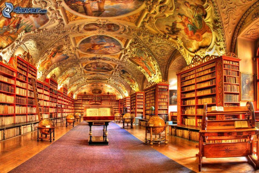 große Bibliothek, HDR