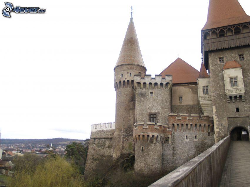 Hunyad, Burg