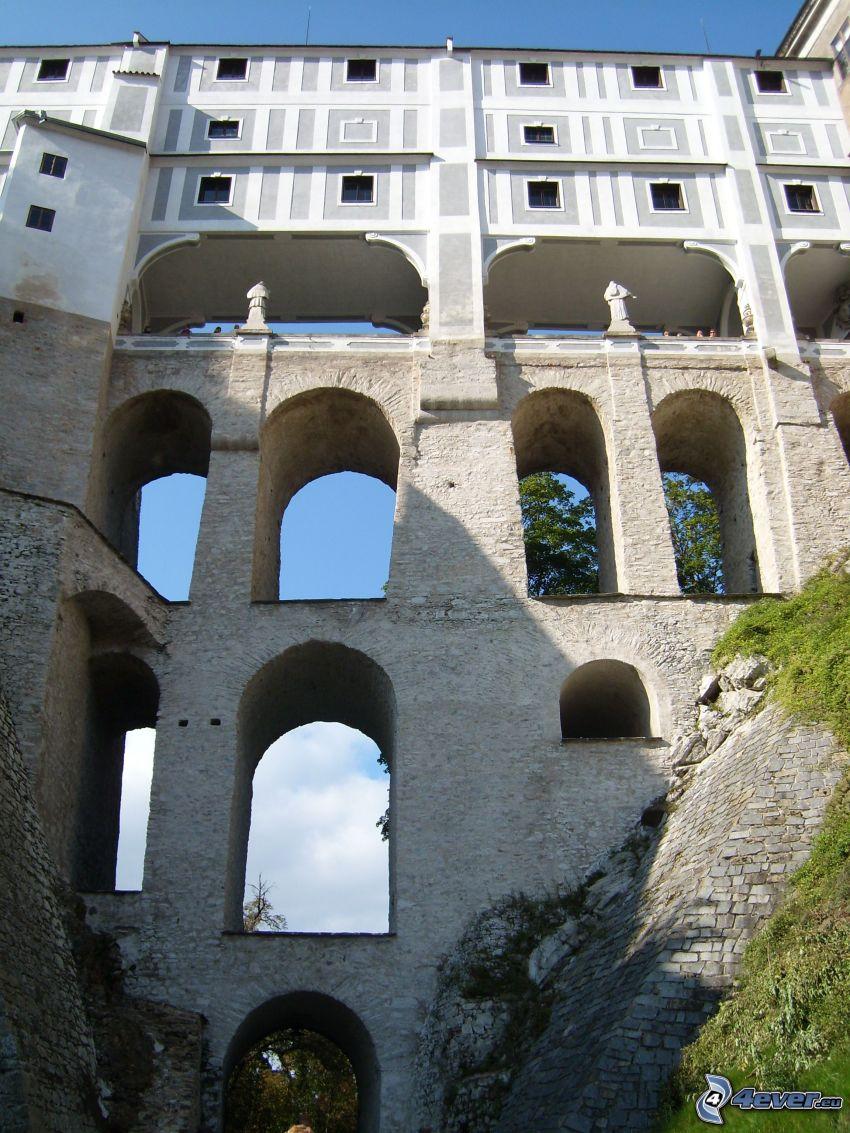 Krumlov, Gebäude