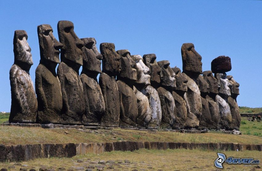 Moai-Statuen, Osterinseln