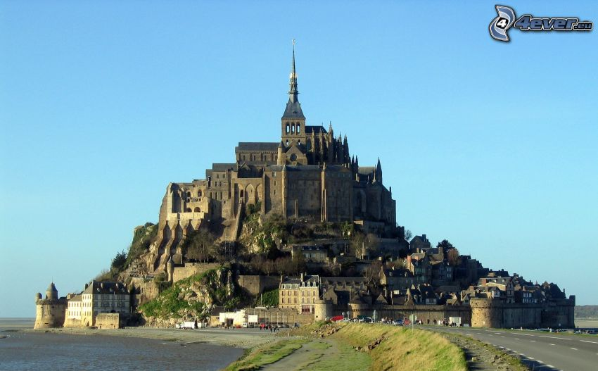 Mont Saint-Michel, Frankreich