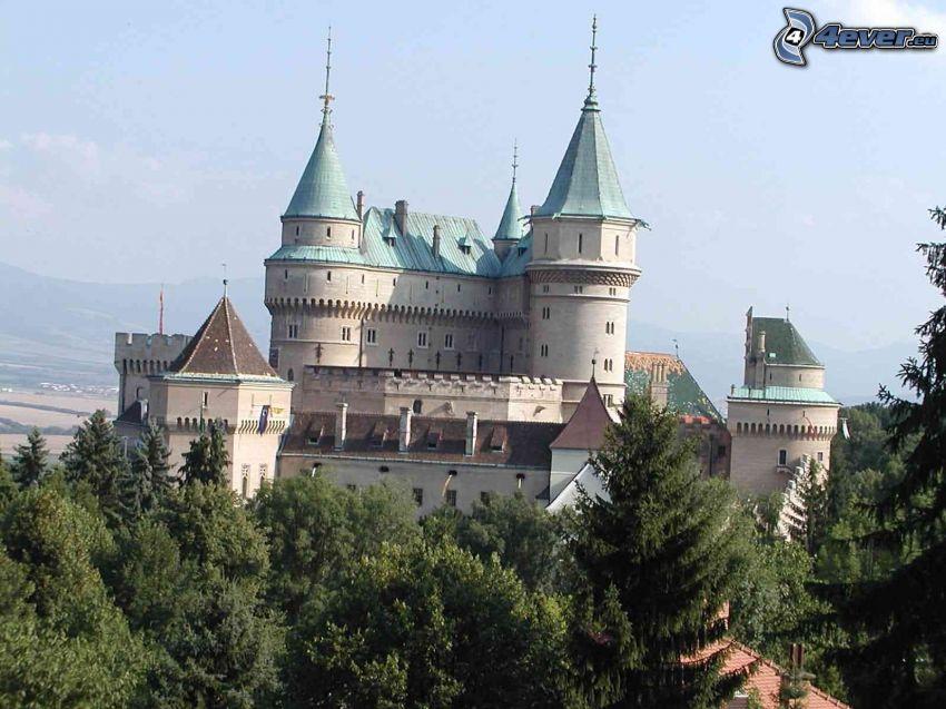 Schloss Bojnice, Burg, Denkmal