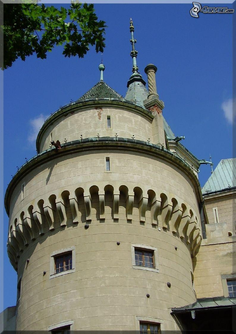 Schloss Bojnice, Burg