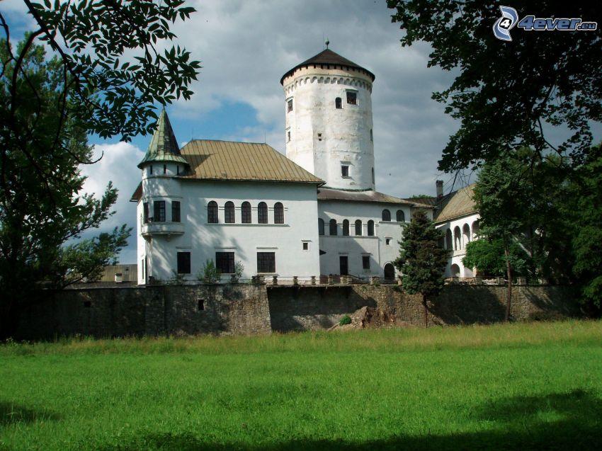 Schloss Budatín, Denkmal