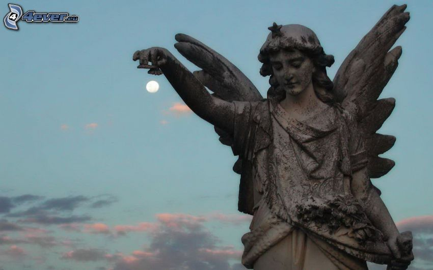 Statue des Engels