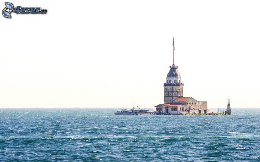 Kiz Kulesi, Meer