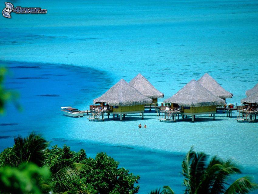 marime Hütten auf Bora Bora
