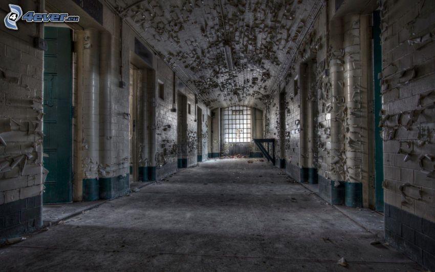 Altbau, Korridor