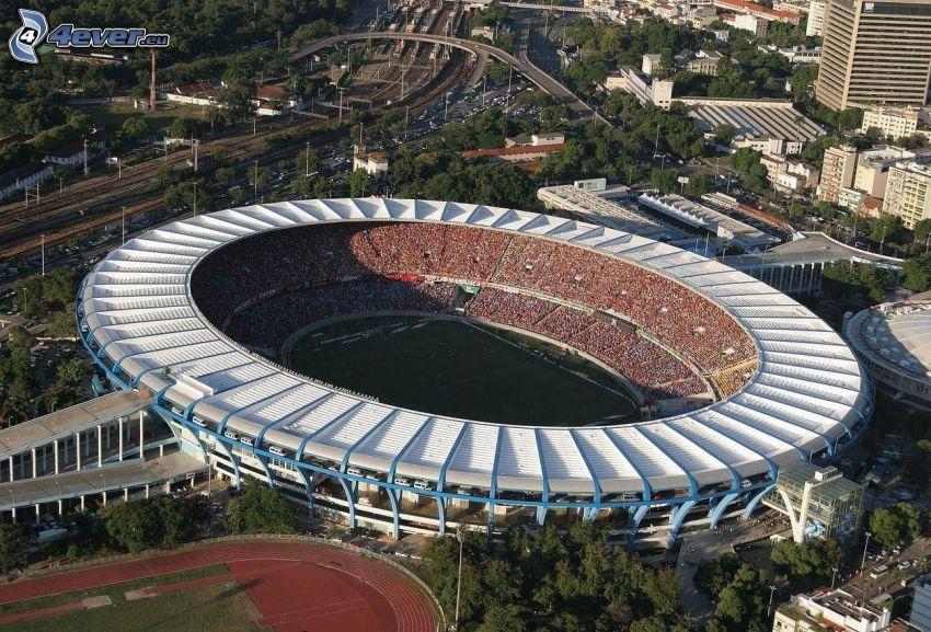 Fußballstadion, Rio De Janeiro, Brasilien