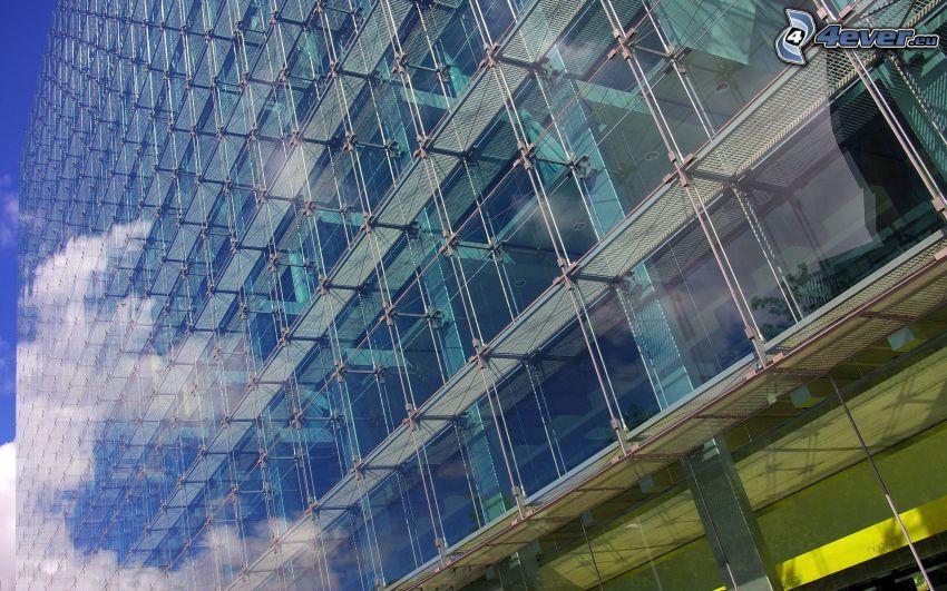 Gebäude, Glas