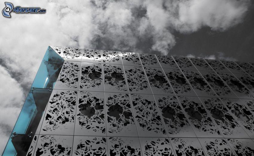 Gebäude, Wolken