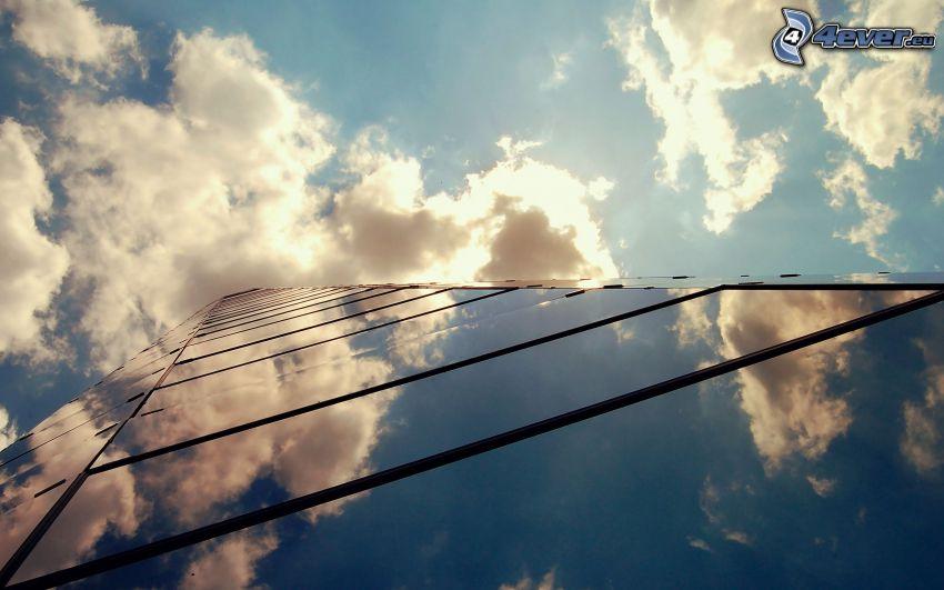 Gebäude, Wolkenkratzer, Glas