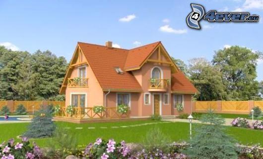 Haus, Garten