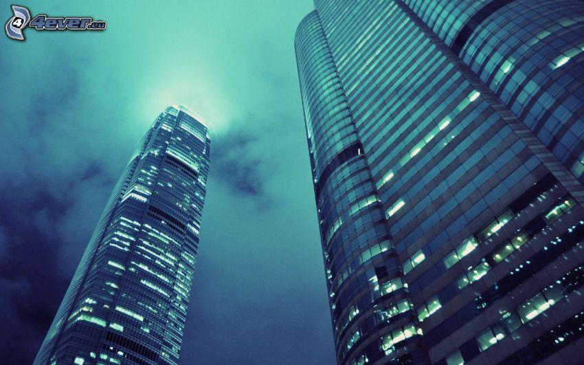 Hong Kong, Wolkenkratzer