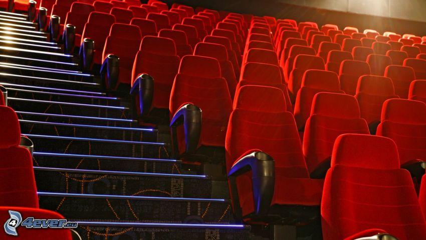 kino, Sitze