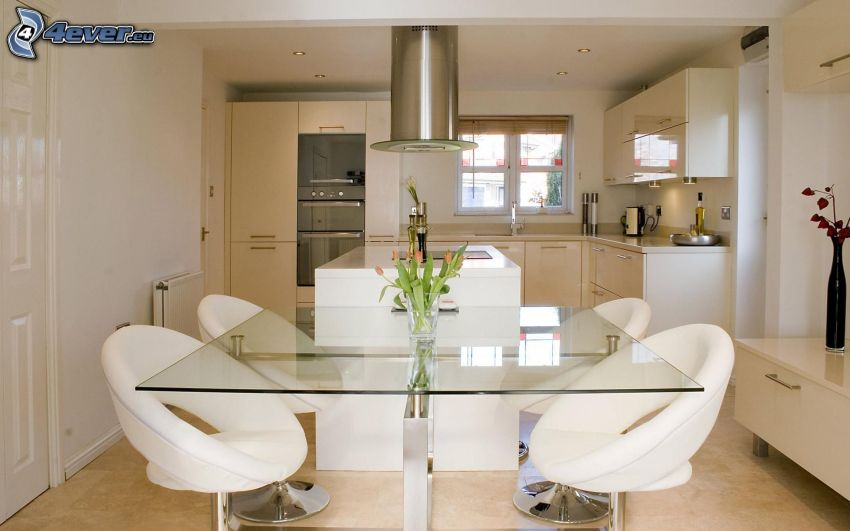 Küche, Tisch, Stühle