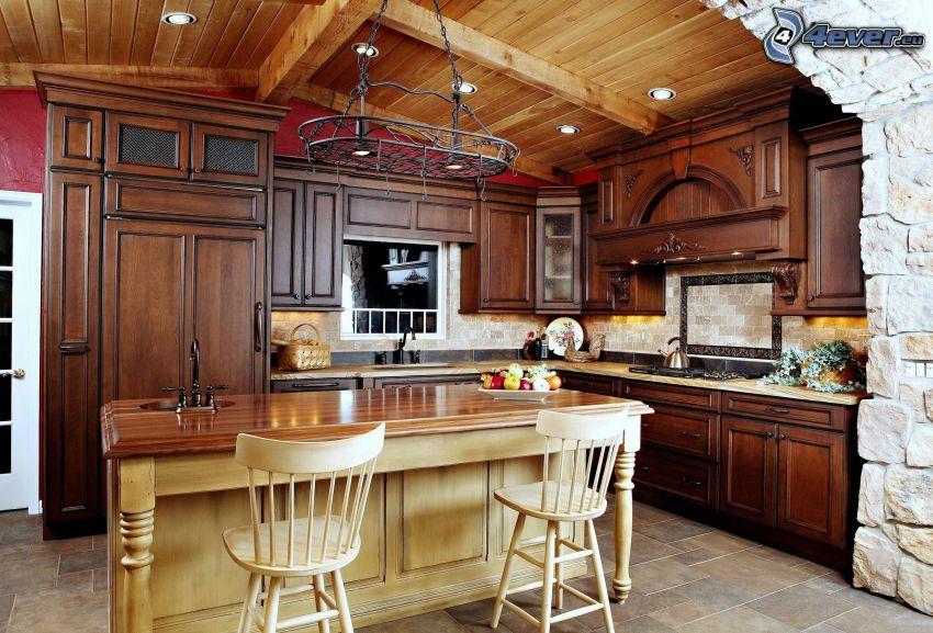 Küche Mit Tisch | Kuche