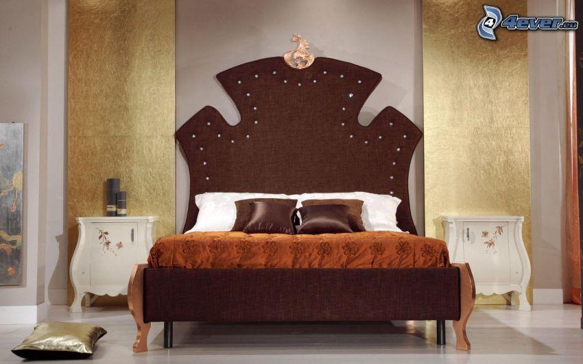Schlafzimmer, Doppelbett