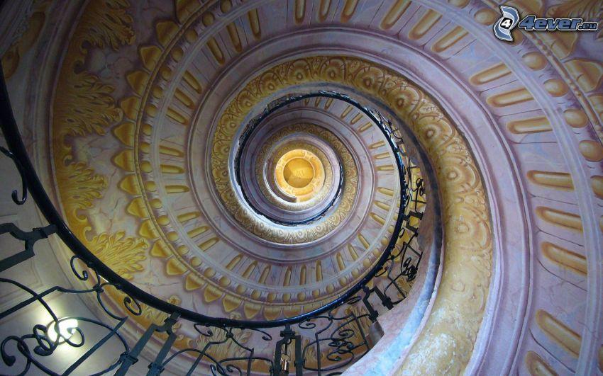 Verdrehte Treppen