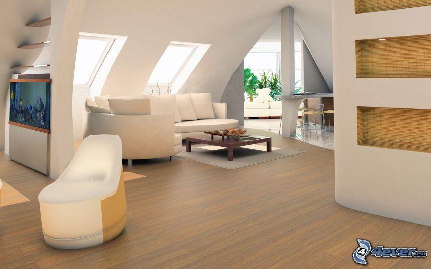 Wohnzimmer, Couch