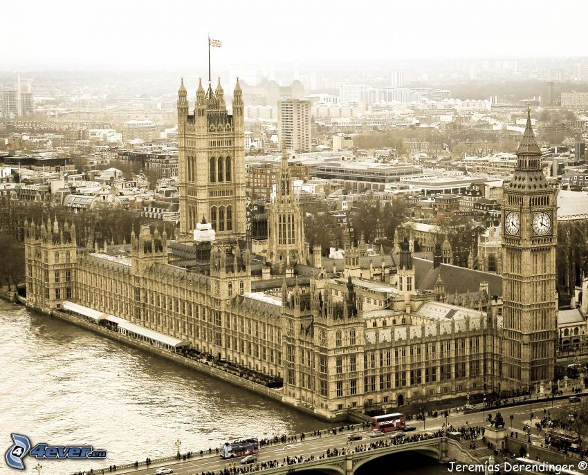 Palace of Westminster, britisches Parlament, London