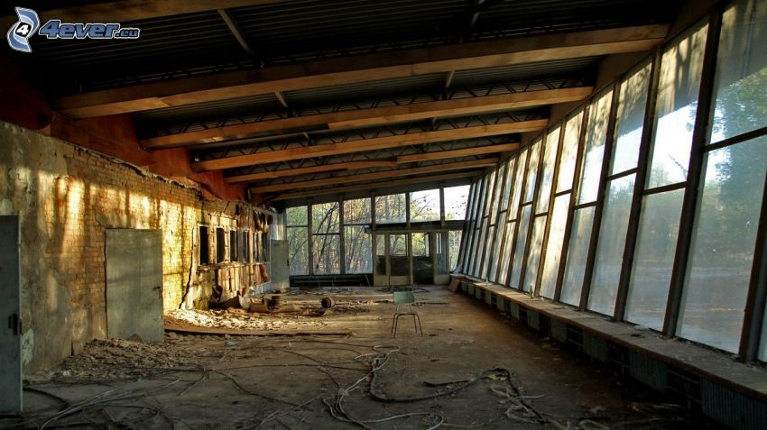 Altbau, Prypjat, Tschornobyl